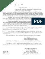 Affidavit of Loss Land Title
