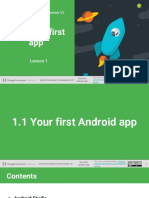 01.1 Your First Android App