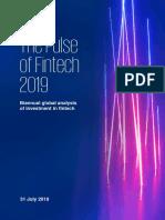 KPMG Pulse of Fintech-h1-2019