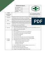 7.1.1.1 Sop Pendaftaran - Revisi