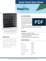 SolarPanel_DataSheet