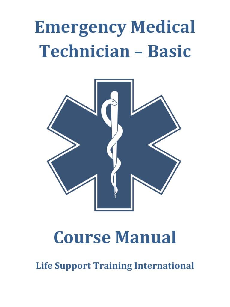 LSTI EMT-B Manual | Emergency Medical Technician | Emergency Medical  Services