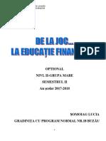 Optional de Educatie Financiara