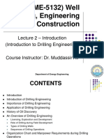 2. Lecture - Introduction to Drilling Engineering