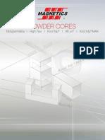 2017 Magnetics Powder Core Catalog