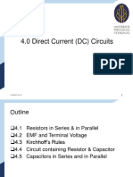 Lecture Notes 4 - Dc Circuits