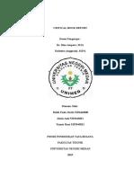Critical Book Report Tekstil