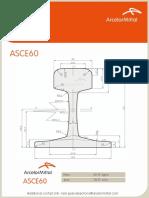 ArcelorMittal - Light Rails - ASCE60