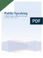 Public Speaking v1 Aug08