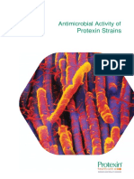 Antimicrobal Activity of Protexin Strains