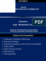 1.Introduction to Engg. Geology & Seismology