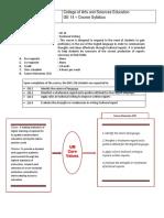 GE 14 (Technical Writing) Course Syllabus - FINAL