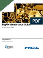 BigFix Maintenance Guide v9.x.1