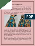 Buy Ankara traditional dresses - Aso Ebi