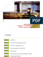 Prosecution Provisions Under 26.07.2019