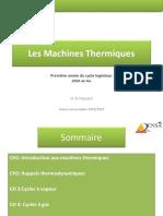 Les Machines Thermiques-Partie 1