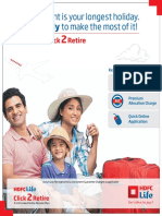 HDFCLife Click2Retire Brochure