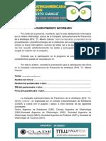 Consentimiento Informado Argentina