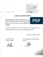 Iniciativas presentadas por Más Madrid a raíz de las palabras de Ayuso.