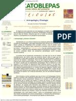 2007 - Moisés Moreno Fernández, Antropología y Etnología, El Catoblepas 6910, 2007