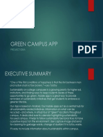 GREEN CAMPUS APP PROJECT IDEA