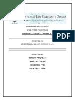 LItigation Management Special Back Paper project.docx