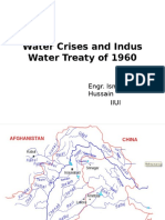 Water Crisis and Indus Water Treaty