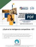 EXPOSICIÓN Modelos de Vigilancia e Inteligencia Competitiva (1)