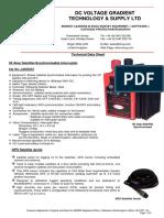Technical Data Sheet - 50amp Satellite Synchronised Interrupter-2017-DCVG Ltd
