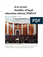 Constitutionality of PHILSAT