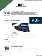 More FEA Samples – Pressure Vessel Engineering