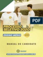 Manual Do Aluno Colégio Termomecanica São Bernardo Do Campo