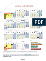 19.06 Calendario Escolar Comunidad de Madrid 2019-20