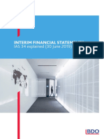 Interim Financial Statements (June 2019)