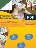 Modul 8 - Pendidikan Anak Berkesulitan Belajar