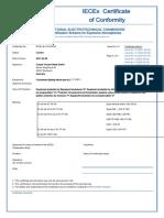 IECEX-BVS-09.0033