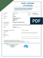 IECEX-PTB-05.0018