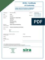 IECEX-SIR-12.0016X