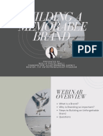 Building a memorable brand