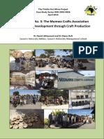 Case Study_3 - Mumwa Crafts Association - Community Development Through Craft Production