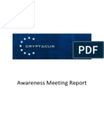 Awareness Meeting Minutes
