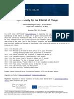 Awareness Meeting Iot Security