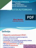 Hepatita autoimuna 2018