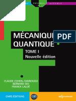 Mécanique Quantique - T1 - C. Cohen-Tannoudji B. Diu F. Laloë - EDP.pdf