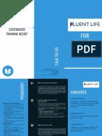 FluentLife - Corporate Brochure
