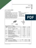 datasheet  FQPF11P06