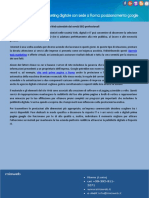 Sito Web Prima Pagina a Roma