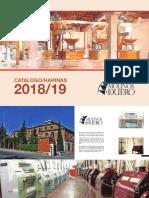 Catalogo Harinas 2018 19