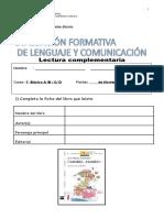 Evaluacion Formativa Camilon -Comilon 2015