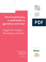 How Israel became a world leader in agriculture and water
